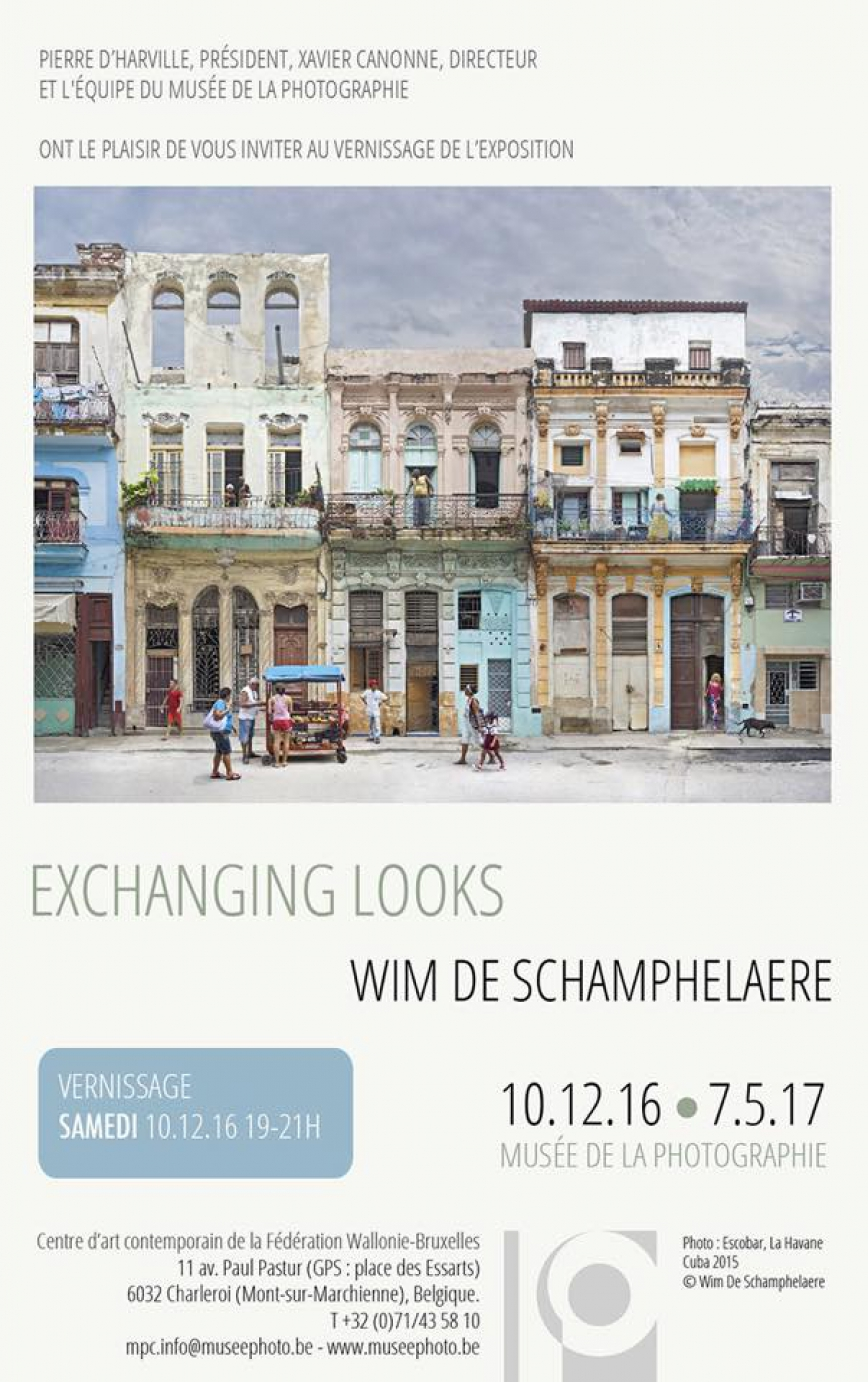 Exchanging Looks, Musée de la Photographie, Charleroi (2016 - 2017)